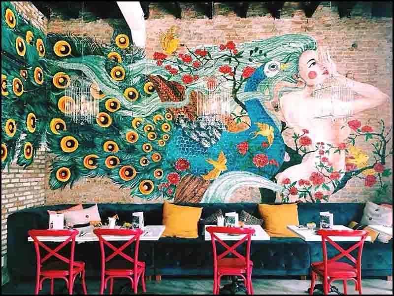 """Nu Bistro – Quán cafe đẹp ở quận 1 """"chất"""""""