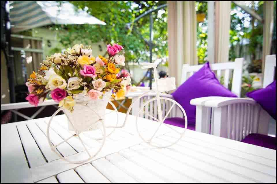 Angel Coffee Garden - Quán Cà phê đẹp ở Tân Bình