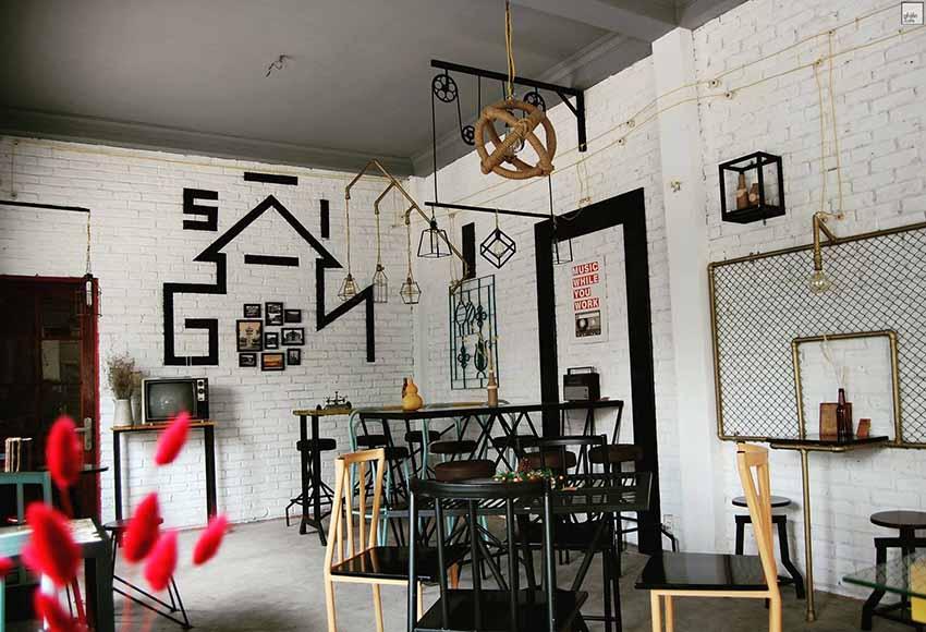 Xì Gòn Phố - quán cafe đẹp ở quận 10