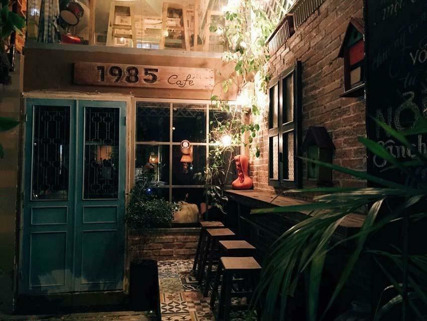 1985 Cafe - quán cafe đẹp ở quận 10