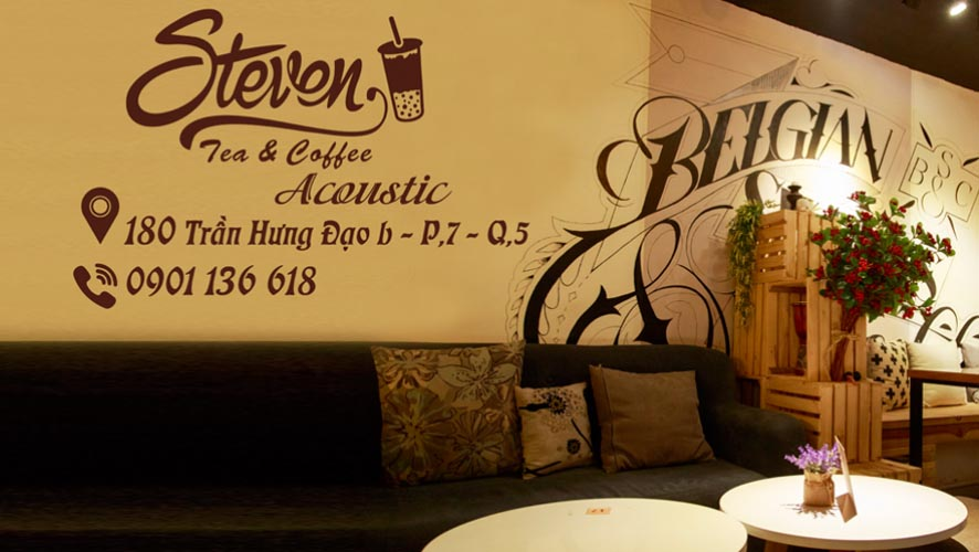 Steven Tea & Coffee - quán cafe đẹp ở quận 5