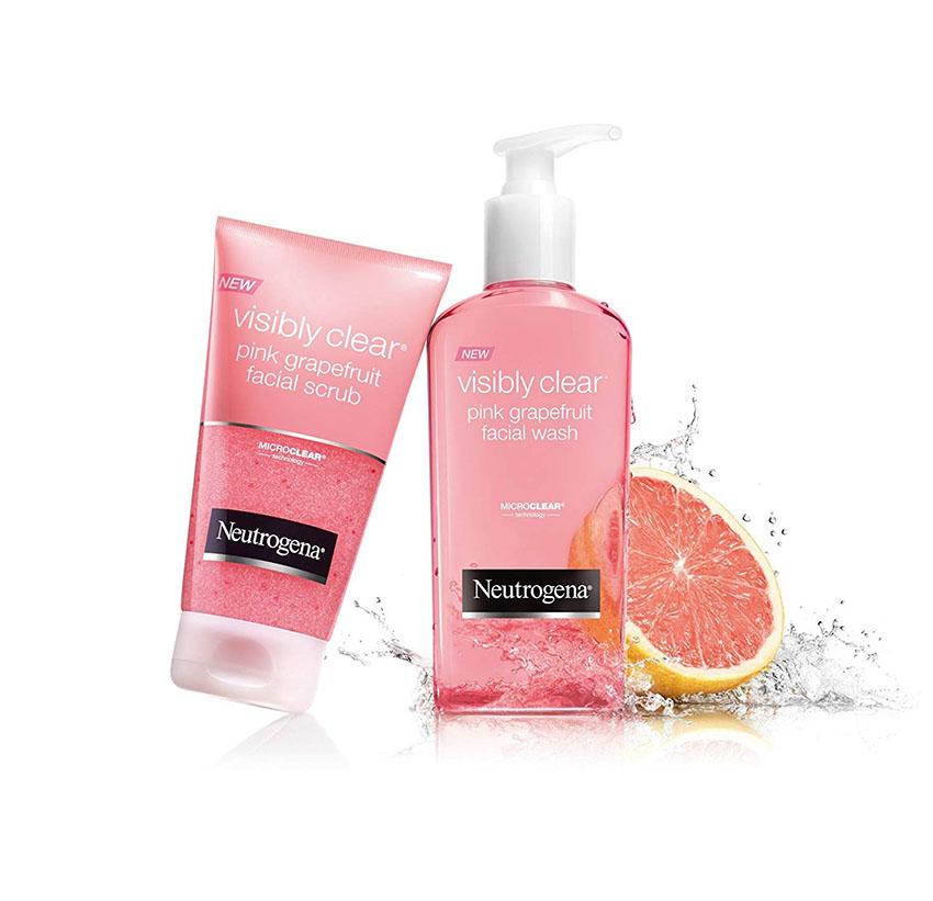 Sữa rửa mặt Neutrogena Oil Free Acne Wash Pink Grapefruit