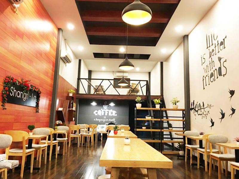 Shangri La Coffee - quán cafe đẹp ở quận 12