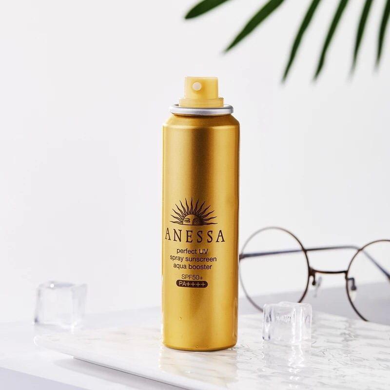 Kem chống nắng ANESSA Perfect UV spray Sunscreen aqua booster SPF 50+ PA++++