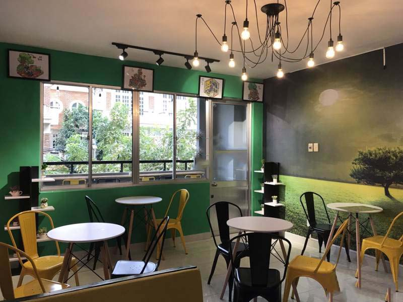 Home Goldfish Coffee & Milk Tea - quán cafe đẹp ở quận 8