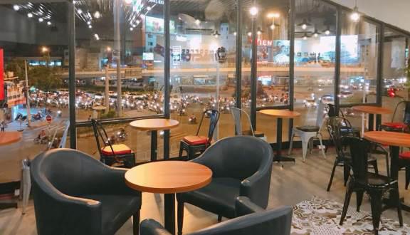 Factory Cafe - quán cafe đẹp ở quận 6