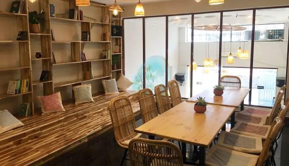 Cỏ Thơm Salon & Cafe - quán cafe đẹp ở quận 6