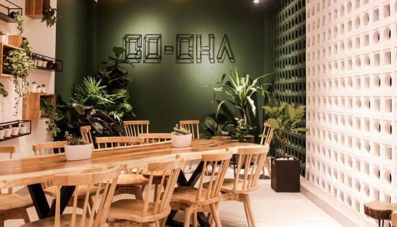 Co-Cha Milk Tea & Coffee - quán cafe đẹp ở quận 8