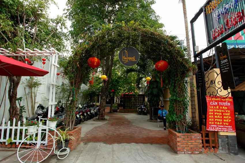 Quán cafe đẹp ở quận 7 L'Amant cafe