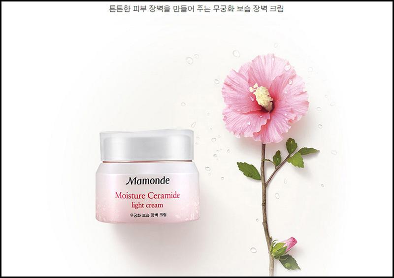 Kem dưỡng ẩm Mamonde Moisture Ceramide Light Cream