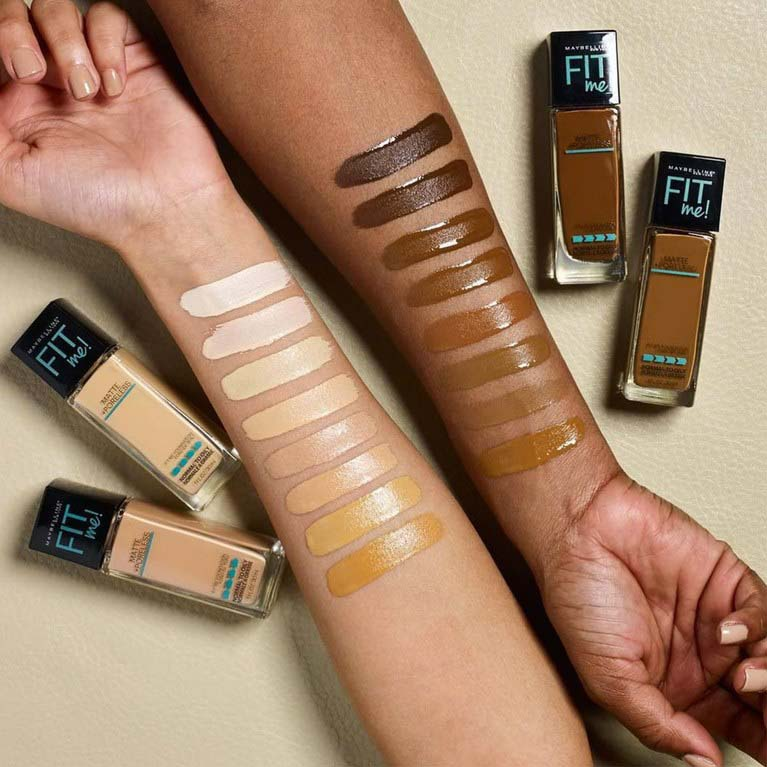Maybelline Fit Me Matte + Poreless Foundation - Make up là gì