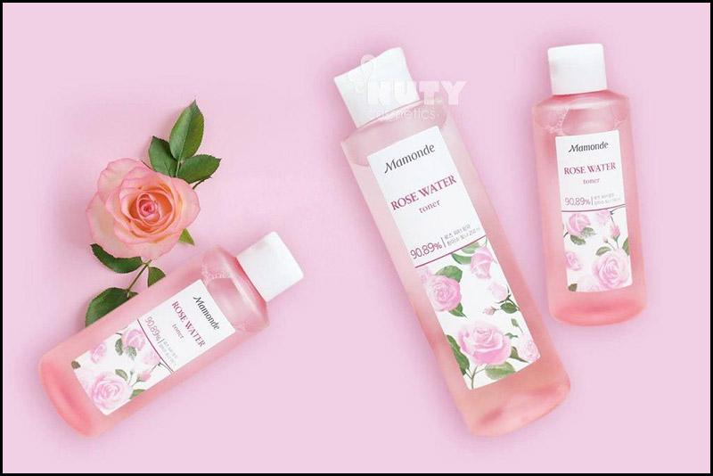 Nước hoa hồng Mamonde Rose Water Toner - Mỹ phẩm Hàn Quốc tại Việt Nam